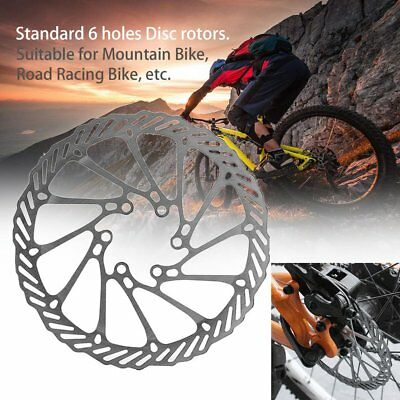 High Strength Steel G3 160mm Bicycle Disc Brake 6 Holes Rotor Pads AU