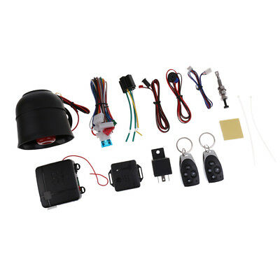 MagiDeal Remote Auto Car Start Starter & Alarm Security System Universal