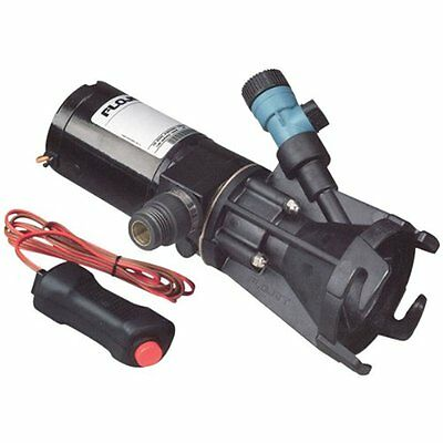 Flojet Power Water Pumps 18555-000A, Portable RV Waste Pump, 12 Volt DC, Case