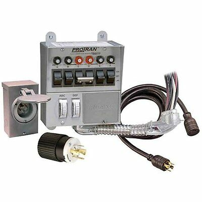 Reliance Outdoor Power Tools Controls Corporation 31406CRK 30 Amp 6-circuit Kit