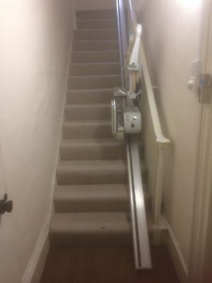 Minivator Straight Stairlift | Unsure of age | Installed only 6 months ago.