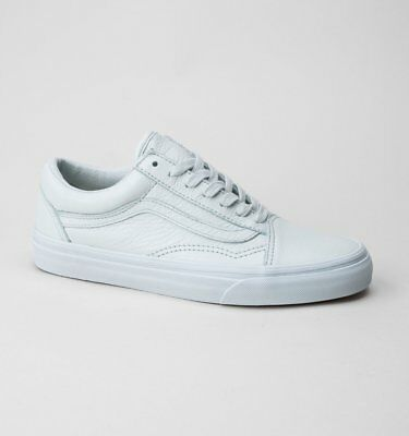 66aa0ff7b06375 VANS OLD SKOOL (Leather) Mono-Ice Flow Trainers WAS 64.99 - EUR 42 ...