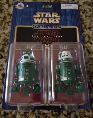 Disney Parks Star Wars Force Friday Last Jedi Droid Factory Set R4-X2 Y5-X2