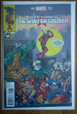 The Winter Soldier issue 1 Deadpool 75th Marvel Variant