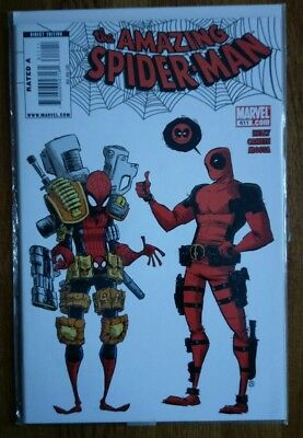 The Amazing Spiderman 611 Deadpool Scottie Young Variant