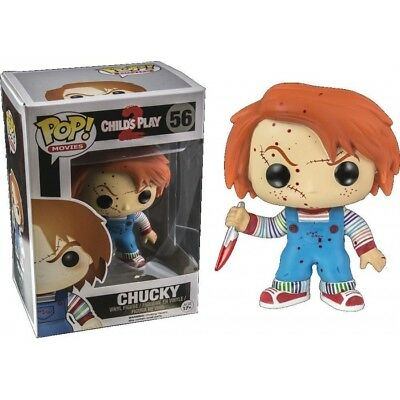 Funko Bobble Head Pop Culture Child's Play Chucky Exclusive Bloody Figure New!