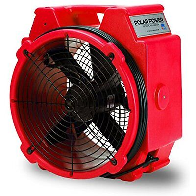 B-Air Categories PB-25 1/4 HP 3320 CFM Polar Axial Fan High Velocity Mover For