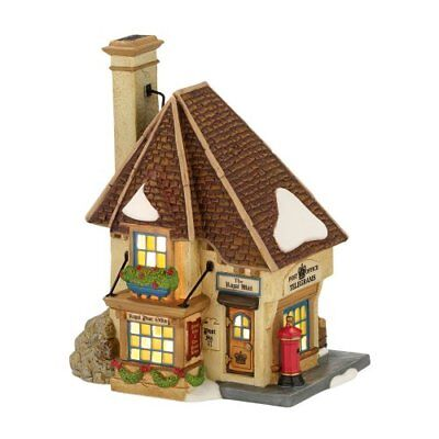 Department 56 Dickens Village Royal Mail Devon Lit House, 6.22-Inch