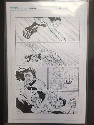 Ryan Ottley - Invincible Original Art Issue 88 Page 17