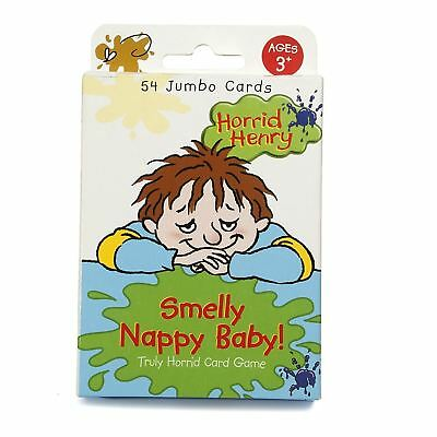 Horrid Henry Smelly Nappy Card Game