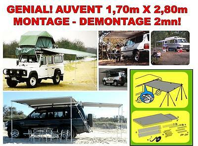 Special Camping Car Caravane Camping Auvent Clic-Clac Montage 2Mn Taille 1,7X2,8