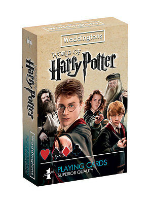 HARRY POTTER Waddingtons - Spielkarten Kartenspiel Playingcards - Jeu de Cartes