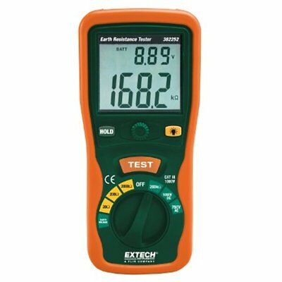 Extech Ground Resistance Meters 382252 Earth Tester Kit