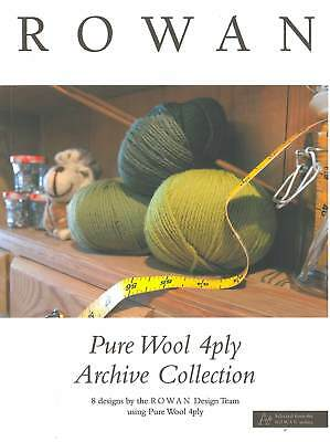 Pure Wool 4ply Archive Collection