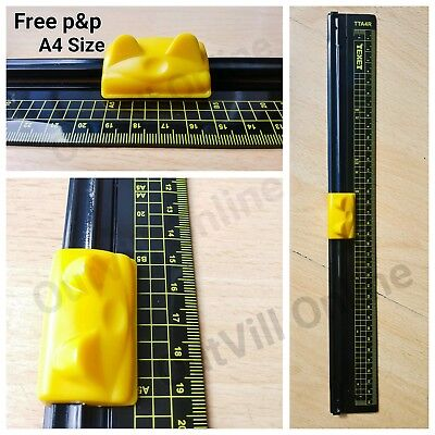 A4 A5 Precision Rotary Paper Guillotine Photo Trimmer Cutter Ruler Texet