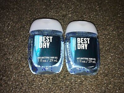 Bath & Body Works 2x Anti-Bacterial Hand Gel USA Exclusive Best Day