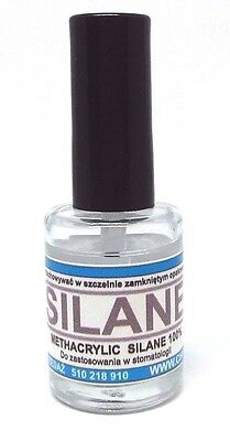 SILANE  - porcelain conditioner 12 ml glass bottle with cap  brush