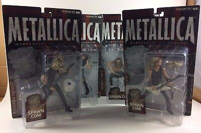 Metallica Harvesters of Sorrow Action Figure Set of 4 McFarlane Toys all MOC NM