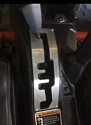 Can Am Maverick X3 Stainless Shift Shifter Gate With Gear letters
