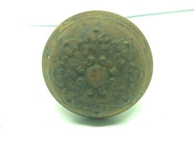 Beautiful Antique Vintage Ornate Brass Door Knobs Victorian