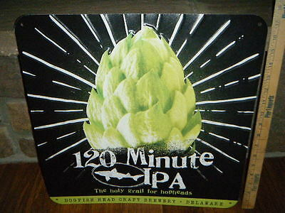 """Rare Dogfish Head 120 Minute Ipa Metal Sign 17+"""" X 17+"""" Holy Grail For Hop Heads"""