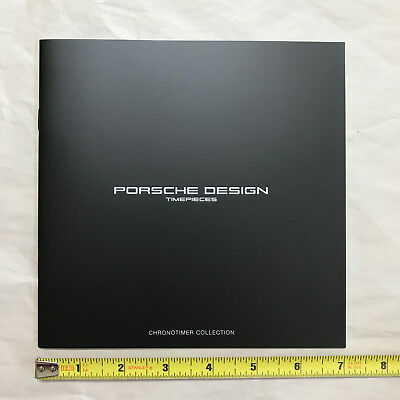 Porsche Design Timepieces full-lineup 20 page brochure, NEW