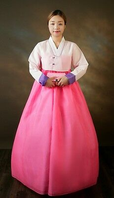 Korean Traditional Hanbok Dress - Korean Ceremony Costume / Royal Costume