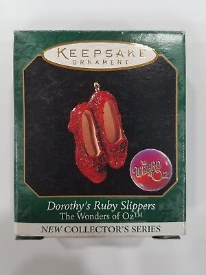 Hallmark Ornament - DOROTHY'S RUBY SLIPPERS - Miniature - 1998