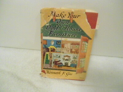 Make Your own Dolls' House Furniture by Gee (1959)