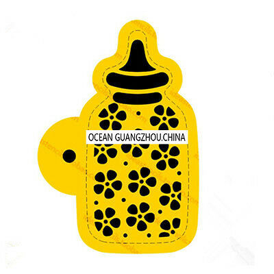 2 Pcs Packed Baby Bottle Cookie Cake Stencil Decorate Mold Fondant Biscuit Tool