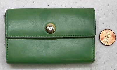 Kate Spade Business & Credit Card Case ~ Small Purse Wallet ~ Green ~ New Job