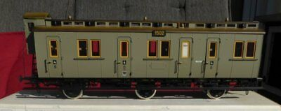 Märklin 5815 1 gauge Prussia train COMPARTMENT COACH 1502 gray 4.Kl. Ep. 1 KPEV,