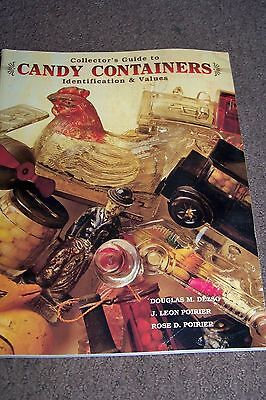 Identification/price Guide Book On Candy Containers #2
