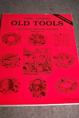 Identification/price Guide Book On Old Tools