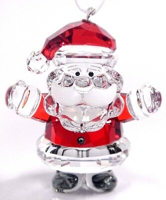 Santa Claus Ornament Crystal 2017 Christmas Swarovski 5286070