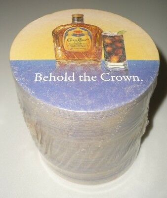 125 Brand New CROWN ROYAL & COLA Drink Bar Coasters, Behold the Crown, 2008