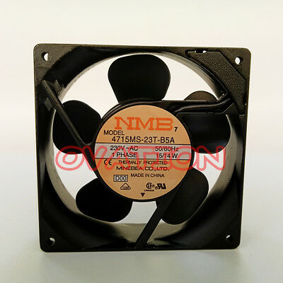 For NEW NMB 4715MS-23T-B5A Cooling fan 230Vac 50/60Hz ,15/14W ,1 PHASE
