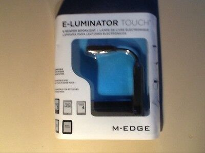 M-EDGE E-Luminator Touch E-Reader Tablet Nook Booklight BRAND NEW 3 Touch Levels