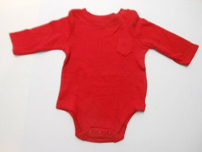 Baby creepers Baby clothes One piece bodysuit Red bodysuit White creeper