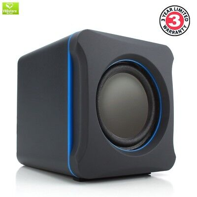 GOgroove LBr 2.1 USB Computer Speakers with Bass Subwoofer , 3.5mm Connection an
