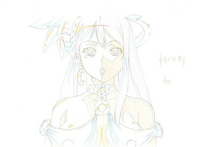 Anime Genga not Cel Queen's Blade #81