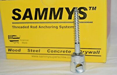 "25 Sammys 8021957 Threaded Rod Anchoring System 2"" Sidewinder for 3/8"" Rod"