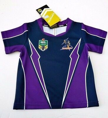 Nrl Melbourne Storm Adults Supporter Jersey Size Xxl - Brand New