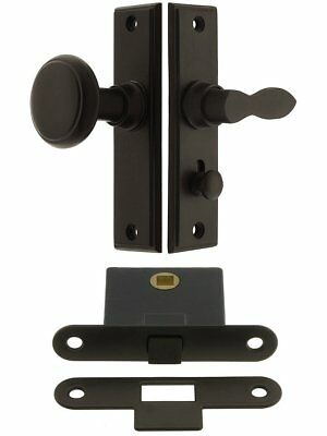 "York Screen Door Latch Set With 1 1/2"" Backset In Oil-Rubbed Bronze. Screen Door"