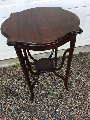 Ornate Edwardian occasional table