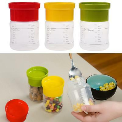 150ML Breastmilk Feeding Collection Storage Bottles With Lids