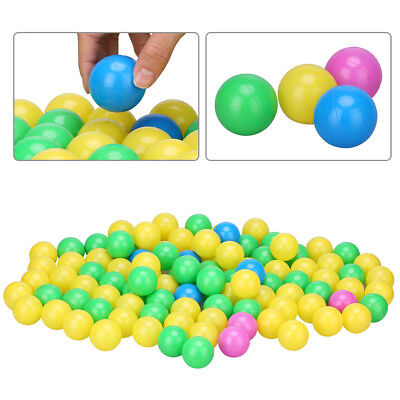 100x Colorful Ball Soft Plastic Ocean Ball Funny Baby Kids Swim Pit Toy 4cm Gift