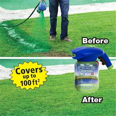 Hydro Mousse Household Device Seed Lawn Care Hydro Seeding System Liquid Spray