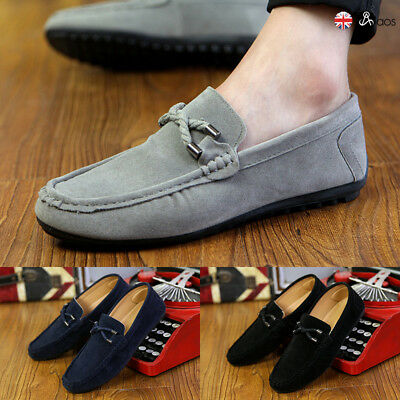 Mens Shoes Casual Loafers Moccasins Slip on Driving Shoes Avail in UK Size UK