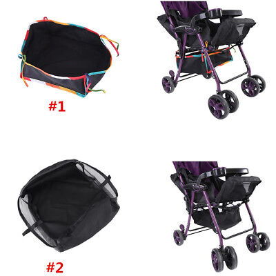 Baby Product Pushchair Accessories Bottom Basket Stroller Storage Bag 30x30x10cm